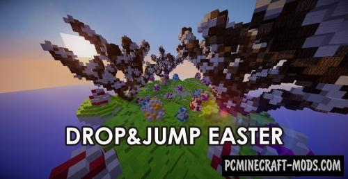 Drop&Jump Easter Map For Minecraft