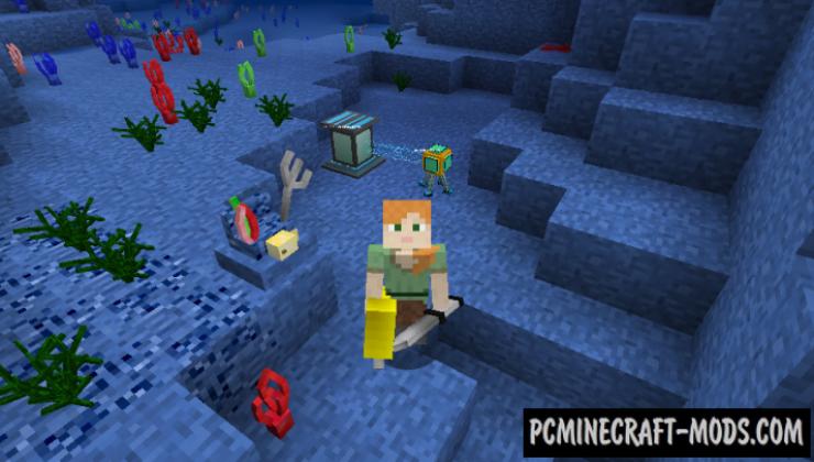 Aquatic Mod For Minecraft 1.12.2