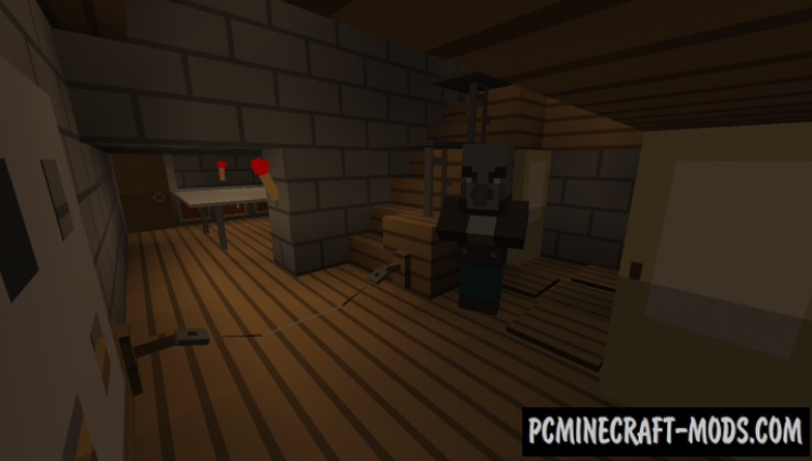 Granny! Map For Minecraft