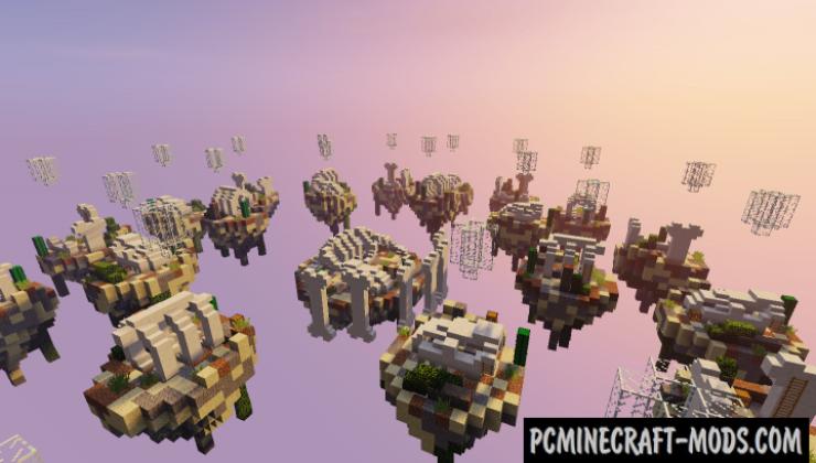 Skywars – Bones Map For Minecraft