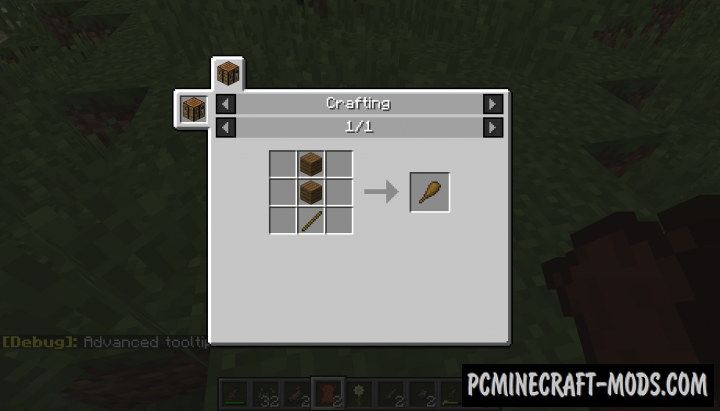 Primitive Tools Mod For Minecraft 1.12.2