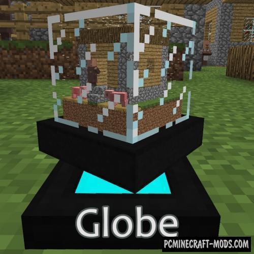Globe Mod For Minecraft 1.12.2