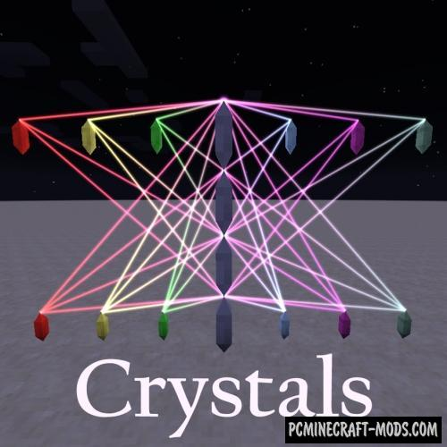 Crystals Mod For Minecraft 1.12.2