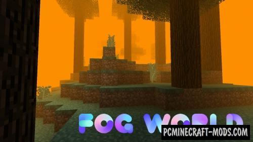 Fog World Mod For Minecraft 1.12.2
