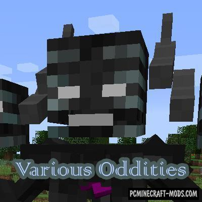 Various Oddities - Custom Mob Models Mod MC 1.12.2