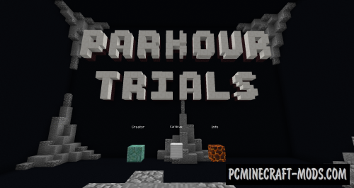 Parkour Trials Map For Minecraft