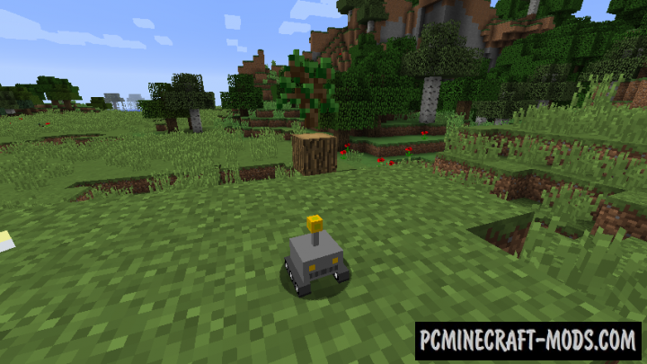 Tiny Robot Pets Mod For Minecraft 1.12.2
