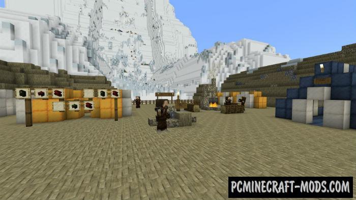 Adventures on Everest Minecraft PE Map 1.5, 1.4, 1.3, 1.2.16, 1.2.13