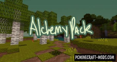 Alchemy Resource Pack For Minecraft 1.12.2. 1.12.1. 1.12