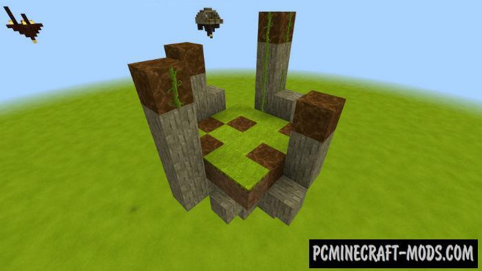 Balanced SkyBlock - Surv Minecraft PE Map 1.4.0, 1.2.16