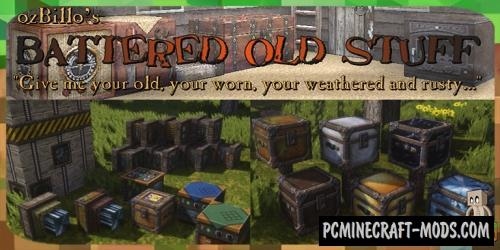 Battered Old Stuff Resource Pack For Minecraft 1.15.2, 1.15