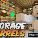 Worse Barrels Mod For Minecraft 1.12.2