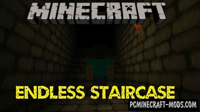 Endless Staircase Minecraft PE Map 1.4.0, 1.2.16, 1.2.13