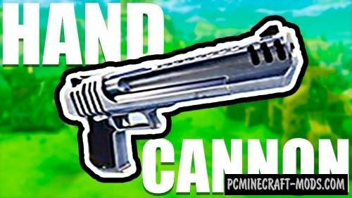 Hand Cannon Command Block For Minecraft 1.12.2