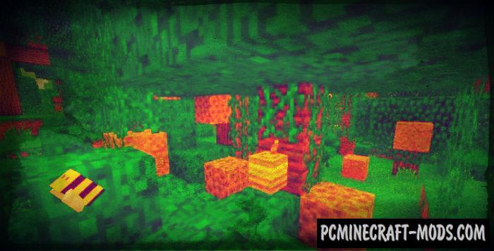 Honeybees Minecraft PE Mod / Addon For 1.6.0, 1.5.3, 1.4.4
