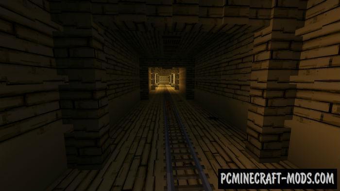 Horror Cartoon Minecraft PE Bedrock Map 1.5.0, 1.4.0, 1.2.13