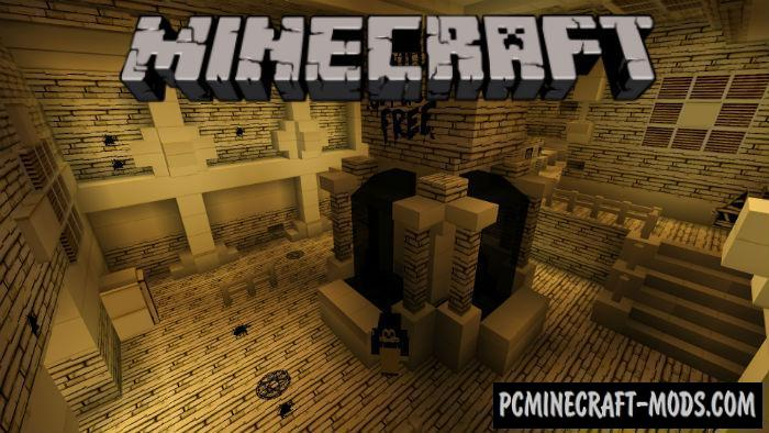 minecraft pe horror map download free