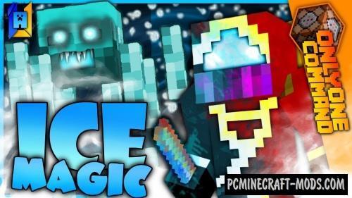 Ice Magic Command Block For Minecraft 1.12.2