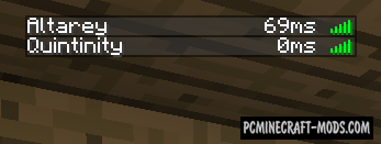 Better Ping Mod For Minecraft 1.7.10