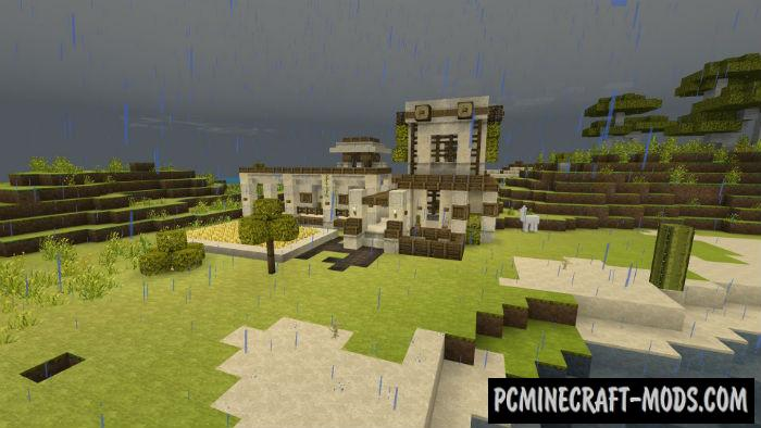 . Modern House with Farm Minecraft PE Map Bedrock 1 4 0  1 2 13   PC