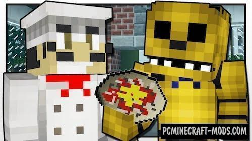 PizzaCraft Mod For Minecraft 1.12.2