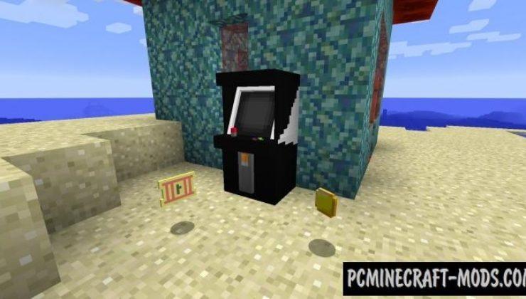 Arcade Mod For Minecraft 1.12.2, 1.11.2