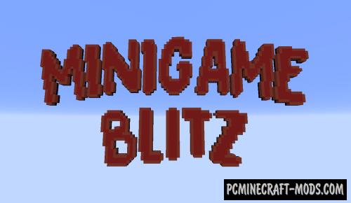 Minigame Blitz Map For Minecraft