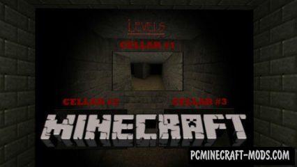 Slendrina: The Cellar LvL 1 Minecraft PE Map 1.2.14, 1.2.13, 1.2.11