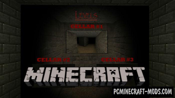 Slendrina: The Cellar LvL 1 - Horror Minecraft PE Map 1.5.0