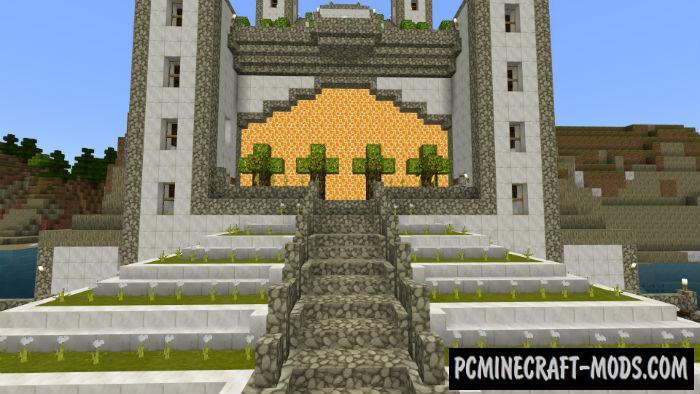 Stone Town Minecraft PE Map 1.5.0, 1.4.0, 1.2.16, 1.2.13