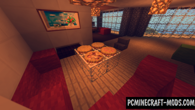 PizzaCraft - Food Mod For Minecraft 1.16.5, 1.12.2