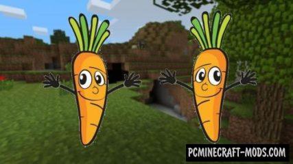 The Veggie Way - Food Mod For Minecraft 1.17, 1.16.5, 1.12.2