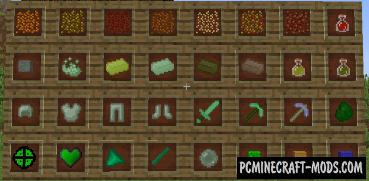 The Veggie Way Mod For Minecraft 1.12.2, 1.11.2