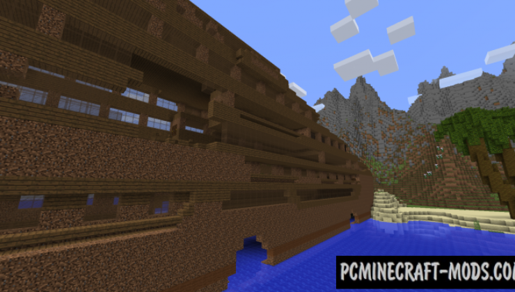Shipwreck on the Island Map For Minecraft