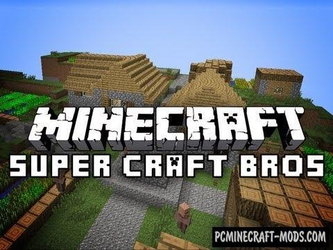 Super Craft Bros Map For Minecraft