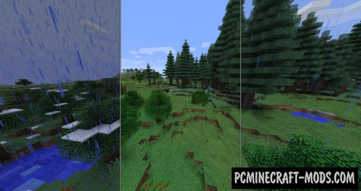 Serene Seasons Mod For Minecraft 1.12.2