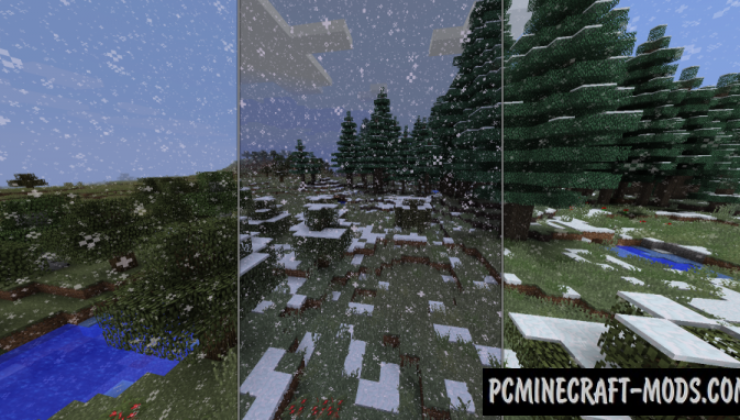 Serene Seasons - Gen Mod For Minecraft 1.15.2, 1.14.4