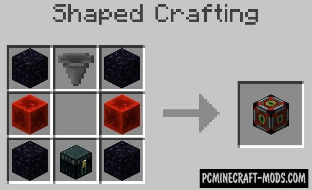 Ender-Rift - Tech Mod For Minecraft 1.16.5, 1.12.2, 1.8.9