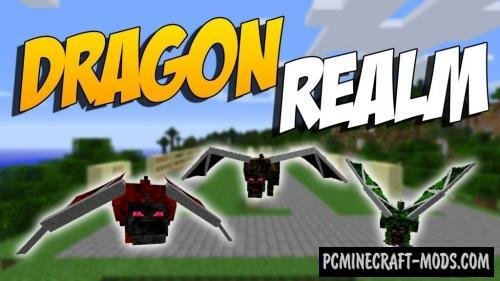 Realm of The Dragons Mod For Minecraft 1.12.2, 1.11.2, 1.10.2