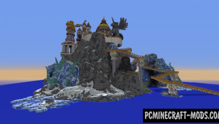 Canterlot Castle Map For Minecraft 1 15 1 14 4 Pc Java Mods