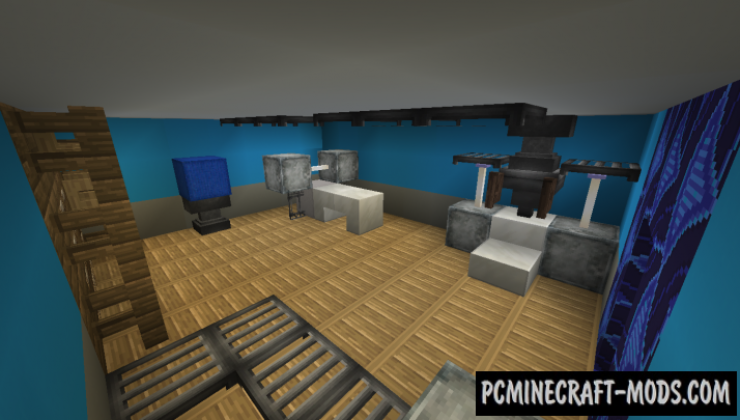 Bunker 818 Map For Minecraft