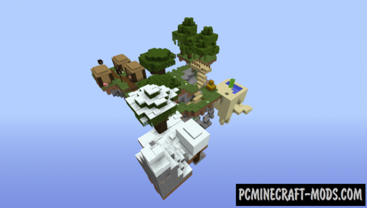 Sky Survival 2 Map For Minecraft