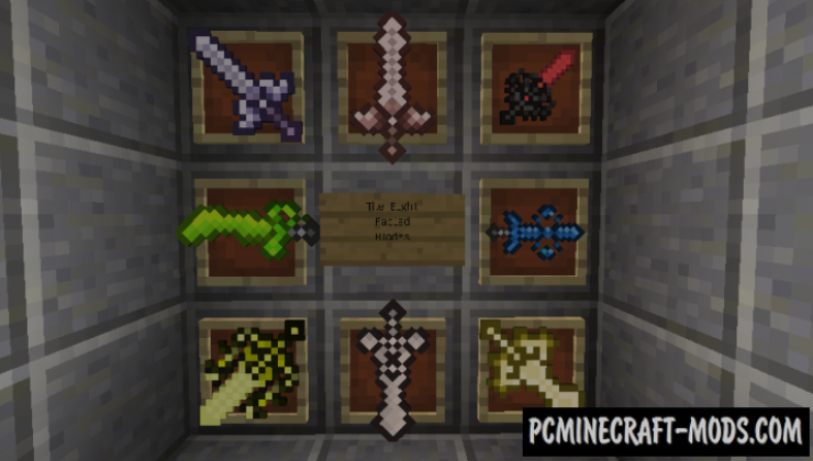 The Eight Fabled Blades Mod For Minecraft 1.12.2
