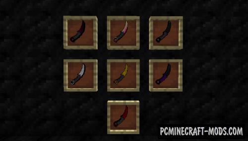 CS:GO Knife Mod For Minecraft 1.7.10