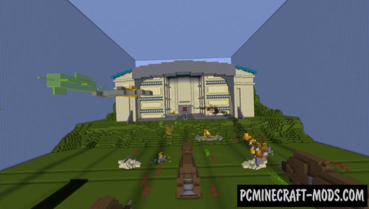 Star Wars Dropper Map For Minecraft
