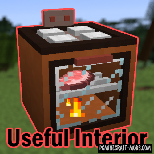 Useful Interior Mod For Minecraft 1.12.2