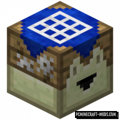 Crafting Automat - Mech Block Mod For MC 1.16.3, 1.15.2