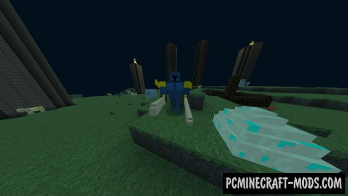 Portal to Aether Dimension Minecraft PE Mod 1.9.0, 1.8.0, 1.7.0