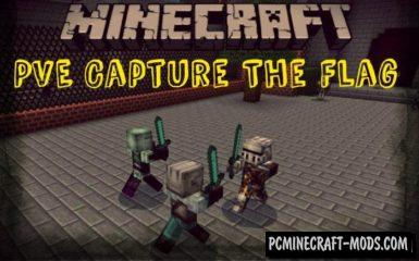 Capture The Flag (PVE) Minecraft PE Map 1.5.0, 1.4.0
