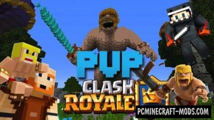 Clash Royale PvP Map For Minecraft